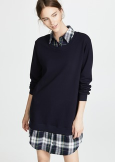 Clu Plaid Collar Dress