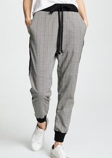 Clu Plaid Track Pants