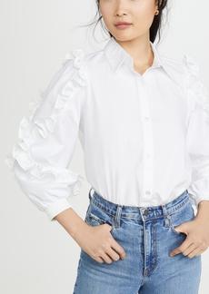 Clu Ruffle Detailed Shirt