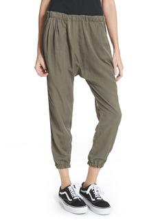 Clu Silk Blend Track Pants