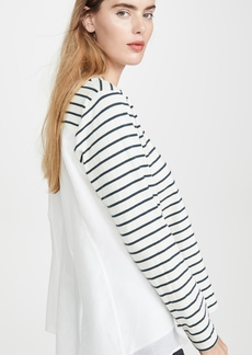 Clu Stripe Shirt with Paneled Back