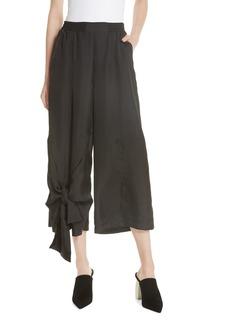 Clu Tie Detail Crop Pants