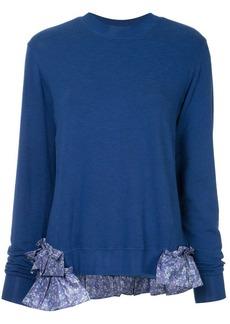 Clu longsleeved ruffle detailed jumper