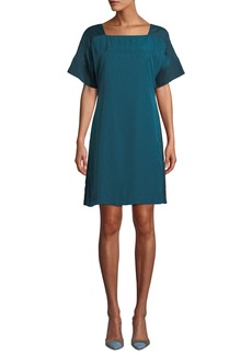 Club Monaco Archmand Dot-Print Shift Dress