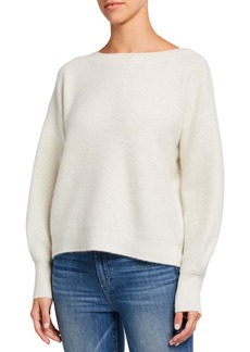 Club Monaco Boiled Cashmere Boat-Neck Sweater