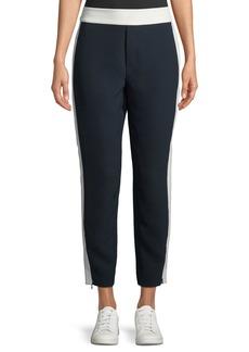 Club Monaco Abhy Straight-Leg Zip-Hem Pants