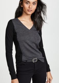 Club Monaco Agnes Body Frame Wool Sweater
