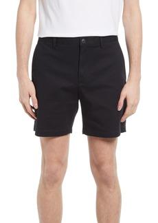 Club Monaco Baxter Stretch Cotton Chino Shorts