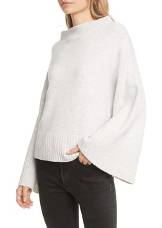Club Monaco Bell Sleeve Wool Blend Sweater