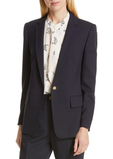 Club Monaco Borrem Single Button Blazer