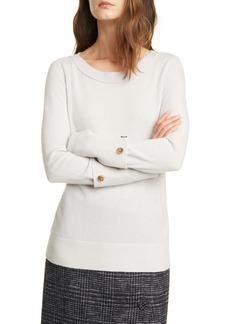 Club Monaco Button Cuff Cashmere Sweater