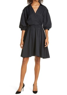 Club Monaco Collared A-Line Dress