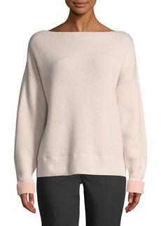 Club Monaco Donah Boat-Neck Cashmere Pullover Sweater