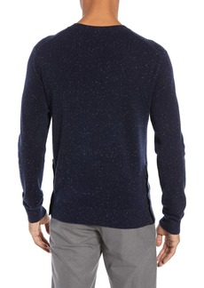 Club Monaco Flecked Cashmere Sweater