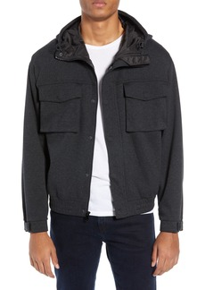 Club Monaco Herringbone Tech Jacket