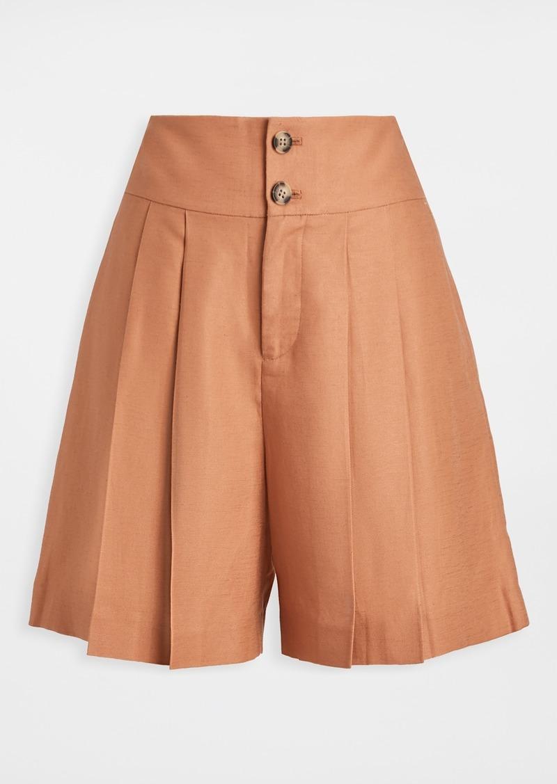 Club Monaco High Waisted Shorts