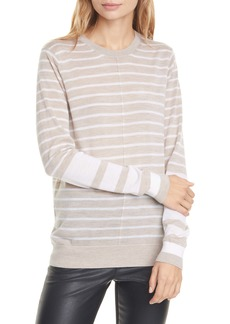 Club Monaco Mackenzie Stripe Wool Sweater