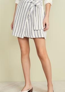 52ed182020 On Sale today! Club Monaco Tilli Pleated Metallic Pull-On Skirt