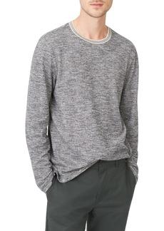Club Monaco Marled Cotton Crewneck Shirt