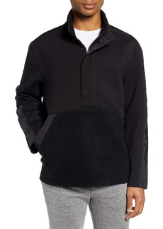 Club Monaco Mixed Media Anorak Pullover