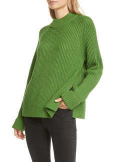 Club Monaco Oversize Shaker Stitch Sweater