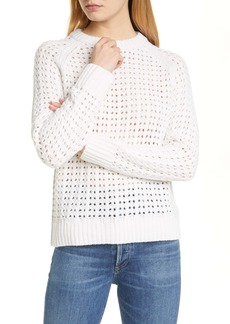 Club Monaco Pointelle Grid Pullover