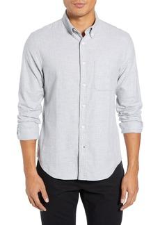 Club Monaco Polka Dot Cotton Flannel Sport Shirt