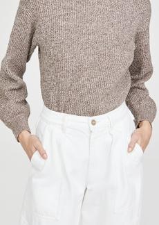 Club Monaco Rib Turtleneck Sweater