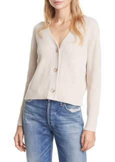 Club Monaco Rib Wool Blend Cardigan