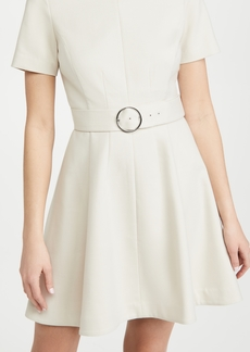 Club Monaco Seamed Flare Hem Dress