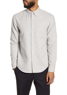 Club Monaco Slim Fit Flannel Button-Down Shirt