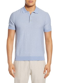 Club Monaco Slim Fit Stripe Polo