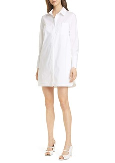 Club Monaco Strawberta Long Sleeve Shirtdress