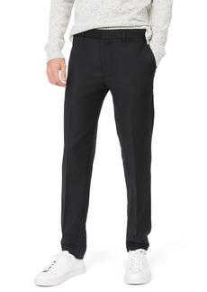 Club Monaco Sutton Trim Fit Stretch Wool Blend Pants