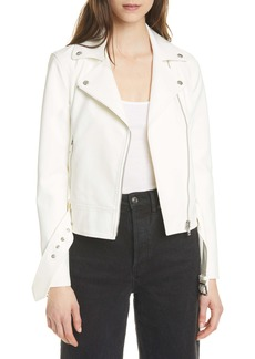 Club Monaco Tech Twill Moto Jacket