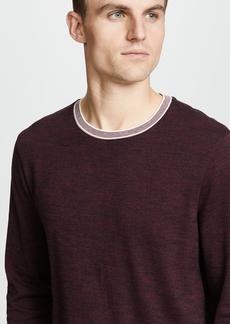 Club Monaco Tipped Marled Crew Sweater