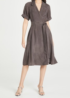 Club Monaco Trench Maxi Dress