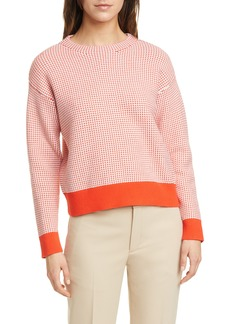 Club Monaco Tricolor Stitch Sweater