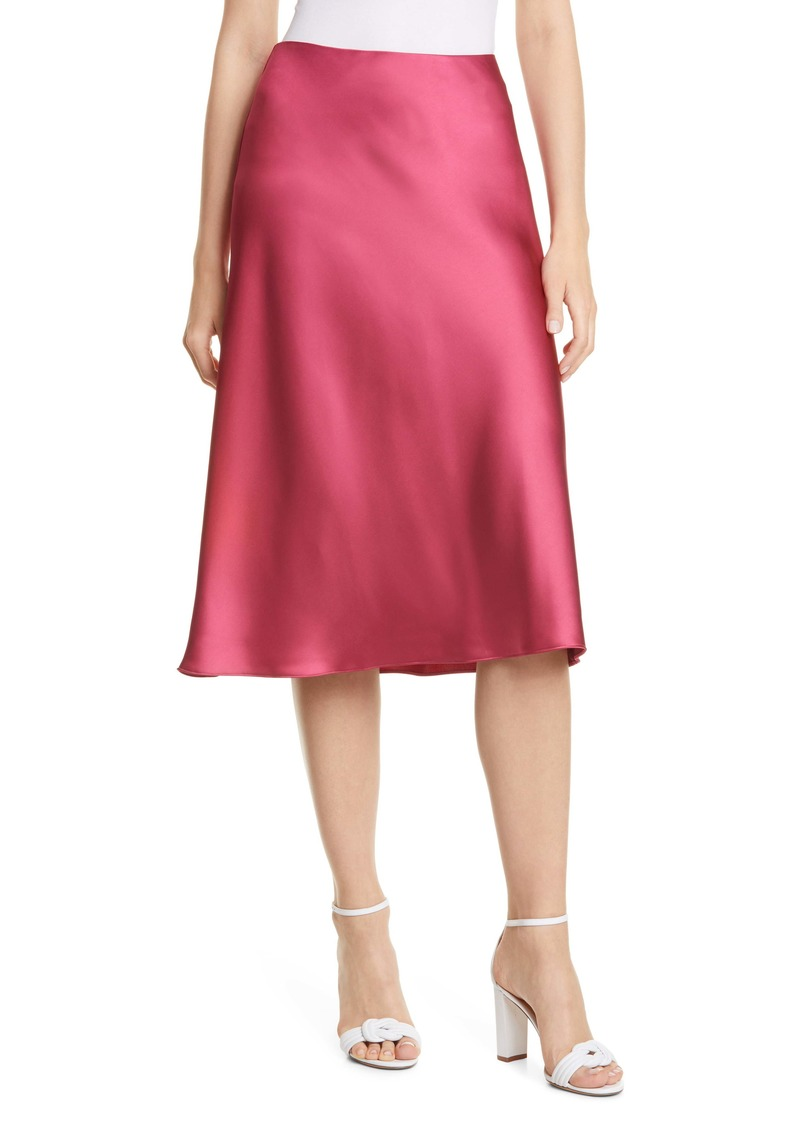 Club Monaco Trycia Satin Skirt