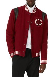Club Monaco Varsity Patch Jacket