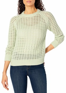 Club Monaco Women's Open Stitch Sweater