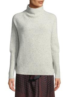 Club Monaco Emma Funnel-Neck Cashmere Sweater