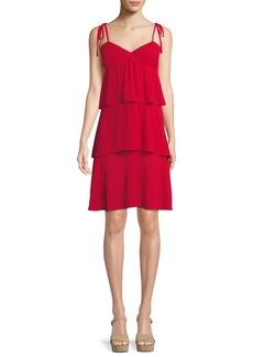 Club Monaco Gaerwen Tiered Sleeveless Dress