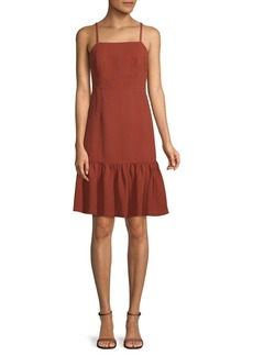 Club Monaco Miija Ruffled Sleeveless Dress