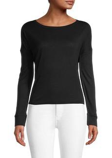 Club Monaco Nawallie Long-Sleeve T-Shirt