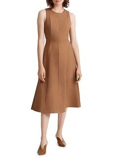 Club Monaco Paneled A-Line Dress