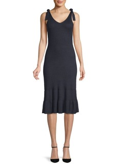Club Monaco Richenda Sleeveless Ribbed Dress