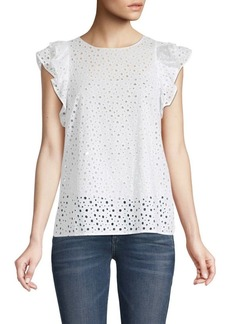 Club Monaco Rousha Cotton Blouse