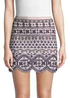 Club Monaco Turlough Embellished Skirt