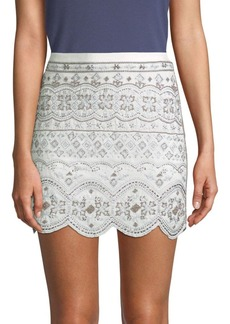 Club Monaco Turlough Embellished Skirt